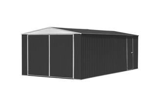 $1,399 for a Huge Double Door Zinc & Steel Garage