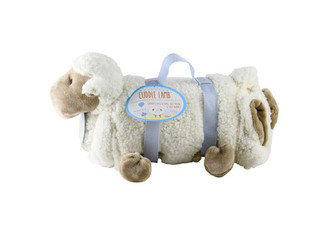 Cuddle Lamb Plush & Blanket