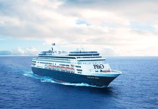 Four-Night Brisbane to Auckland Cruise Aboard P&O Pacific Aria for Two People incl. All Main Meals & Activities