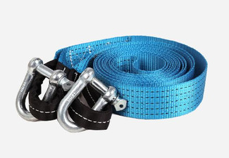 $16.90 for a 5m 8-Tonne Towing Rope Strap