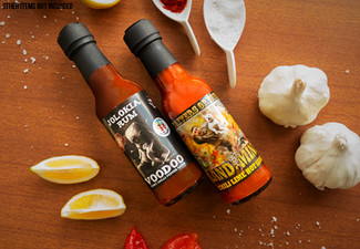 Two-Pack of Baxter's Original Hot Sauce with Free Delivery