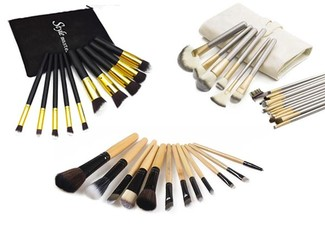 Make-Up Brush Range - Four Options Available with Free Delivery