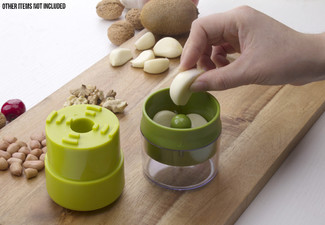 Manual Garlic & Peanut Press
