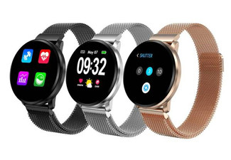 Smart Watch Compatible with Apple & Android - Three Colours Available with Free Delivery