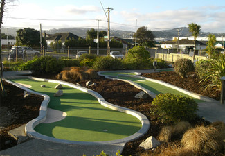 18 Holes of Mini Golf for Two People - Option for Nine Holes of Golf for Two People