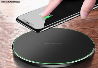 Wireless Fast Charger - Option for Two with Free Delivery