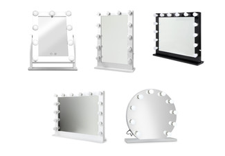 LED Hollywood Design Mirror Range  - Five Options Available