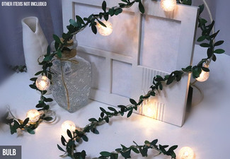 Six-Metre Bulbs or Flower Fairy String Lights - Option for Two