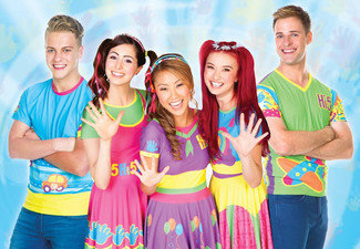 $25 for One Ticket to See Hi-5 at ASB Theatre in Auckland (value up to $45.90) – Booking & Service Fees Apply