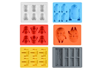 Star Wars Ice Tray - Six Colours Available