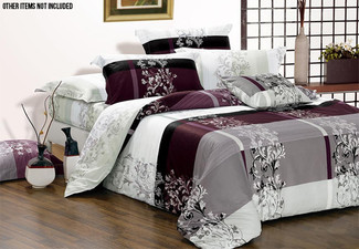 Maisy Duvet Cover Set Range - Three Sizes Available & Options for Pillowcases & Cushion Covers