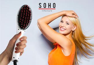 $29.99 for a Soho Hair Straightening Brush