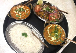$40 Authentic Indian Dinner & Drinks Voucher