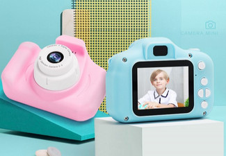 Mini Kids' Digital Camera - Three Colours & Option for Two Available