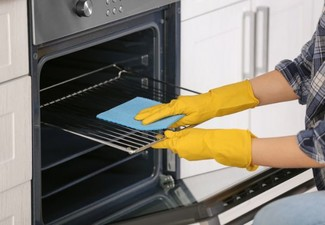 Single Oven Clean - Options for Double Ovens & Range Hoods Available