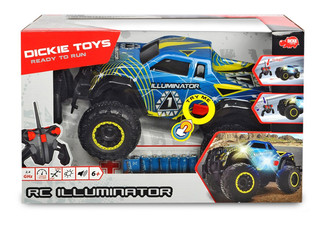 Dickie's Toys RC Illuminator Remote Control Monster Truck