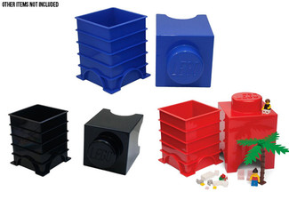 LEGO Storage Bricks - Three Colours Available