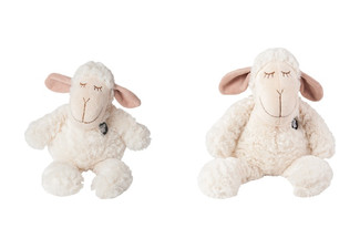 Soft Sleeping Sheep Toy - Two Sizes Available