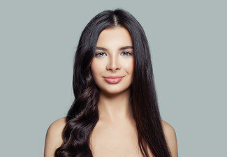 Premium Keratin Treatment, Shampoo, Head Massage, Cloud Nine/GHD Straightening & Eyebrow Thread or Wax