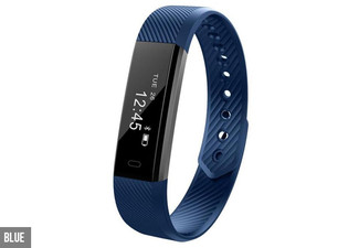 Touch Screen Smart Fitness Tracker - Available in Five Colours with Free Delivery