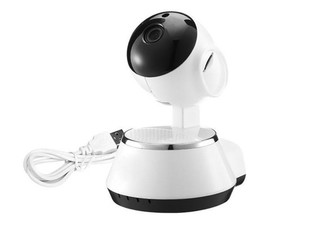 Rotatable 720P WiFi Baby or Pet Security Video Monitor