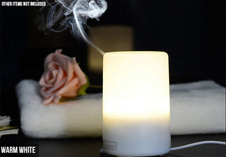 Colourful LED Aroma Diffuser - Two Options Available