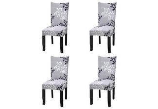 Dining Chair Protector Covers - Option for Two- or Four-Pack