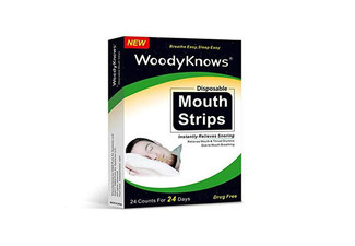 24-Pack of Anti-Snore Disposable Mouth Strips