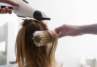 Luxurious Hair Make Over Package incl. Style Cut, Shampoo,Conditioning Treatment, Head Massage, GHD or Cloud9 Finish with Eyebrow Shape