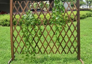 Expandable Garden Fence - Option for Two