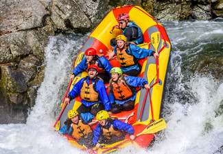 Epic Grade-Five White Water Rafting in Tauranga on the Wairoa River - Options for up to Six People