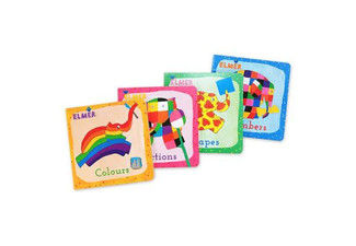 Elmer Four-Pack Board Book Set