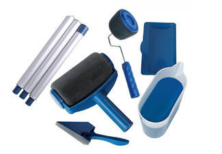 Eight-Piece DIY Paint Roller Kit