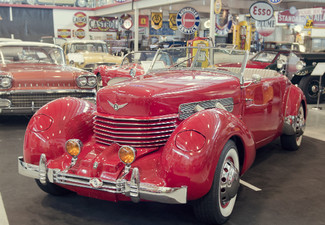 Two Adult Passes to Classic Car Museum