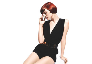 Luxury Hair Cut & Colour Package incl. Half Head of Foils or Full Colour with Conditioning Treatment, Scalp Massage, Style Cut, GHD Finish & $10 Return Voucher