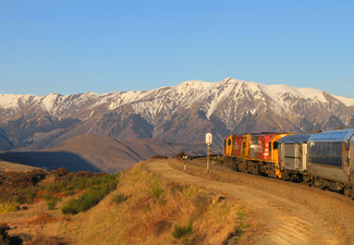 Per-Person Return TranzAlpine Rail Journey from Christchurch to Greymouth incl. Two Nights Accommodation at Bella Vista Greymouth