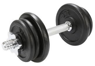 $59 for a Dunlop 20kg Spinlock Dumbell Set