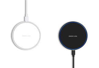 Ultra Thin Wireless Charging Pad - Two Colours Available
