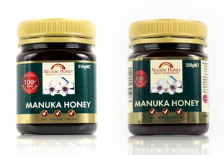 Manuka Honey 100+MG 250g - Option for 150+MG & Two or Four Jars