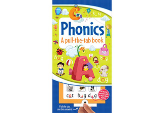 Pull-The-Tab Phonics Book