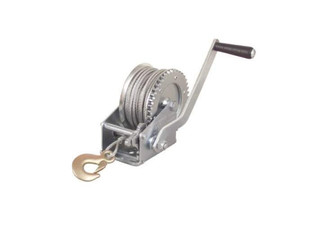 270KG Capacity Winch with Steel Wire