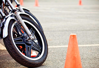 NZTA-Approved Motorbike Handling Course & Test - Option to incl. Motorcycle, Helmet & Glove Hire