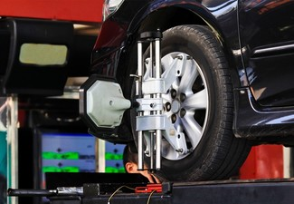 Sedan or Hatchback Computerised Wheel Alignment - Option for an SUV or 4WD
