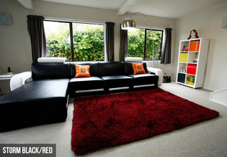 Storm Thick Shaggy Rug - Three Sizes & Four Colours Available