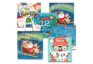 Christmas Picture Book Set of Five incl. Bag