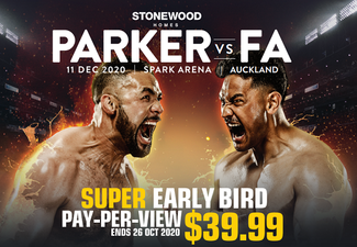 Stonewood Homes Parker vs Fa - Spark Sport Pay-Per-View
