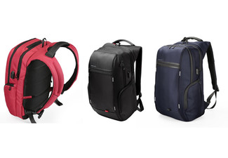 Anti-Theft Waterproof Bags with USB Charge -  Available in Three Colours with Free Metro Delivery