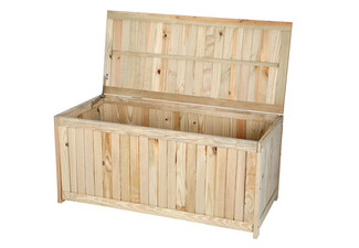 Greenzone Wooden Garden Storage Box