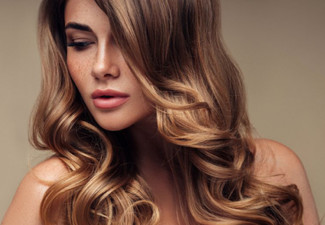 Style Cut, Wash, Conditioning, Blow Wave & GHD Straightening Finish - Option to incl. Half Head of Foils