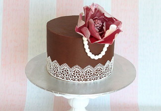 From $39 for Cake Decorating Class - Choice of Vintage Cupcakes, Basic Skills Class & Ganache Basics (value up to $75)